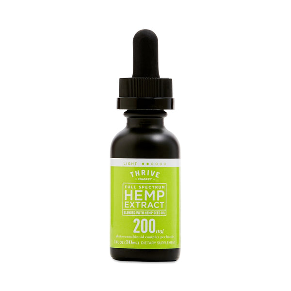 Full Spectrum Hemp Extract Tincture - 200mg