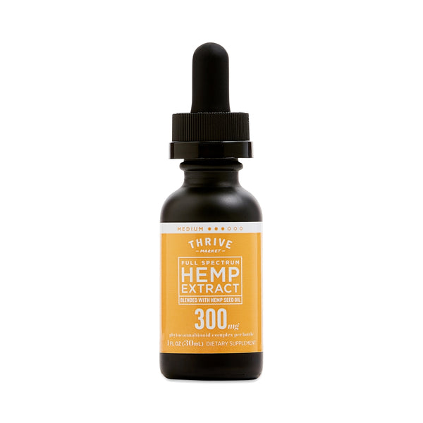 Full Spectrum Hemp Extract Tincture - 300mg