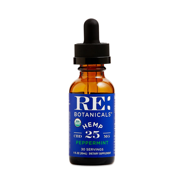 Hemp 25 Peppermint Tincture