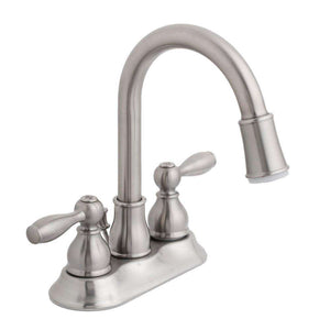 ERVS |™ Modern 4 in. Centerset 2-Handle LED High-Arc Bathroom Faucet