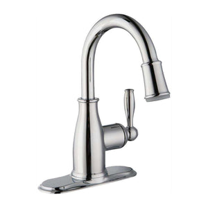 ERVS |™ Modern Single Hole Single-Handle LED High-Arc Bathroom Faucet