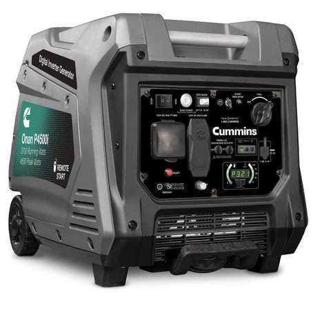 Cummins Onan P4500I 4500W Remote Start Portable Gas Inverter Generator (A058U955)