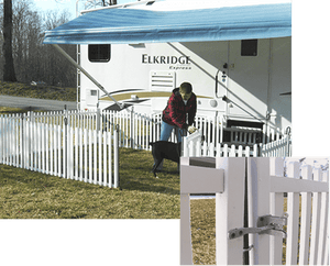 Picket Play Fence System For Pets By SafetyStep (01-2314)