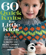 60 Quick Knits For Little Kids | Book |Cascade
