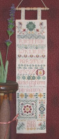 Four Leaf Clover Sampler Cross Stitch | C-008 | Rosewood Manor