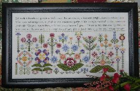Beautous Garden Sampler Cross Stitch | S-1050 | Rosewood Manor