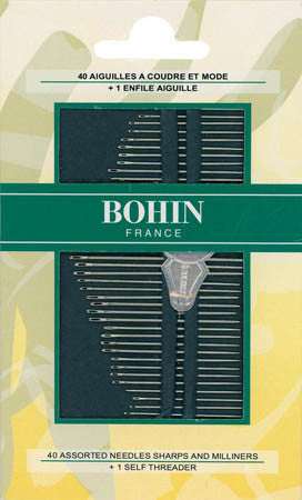 Assorted Milliners and Sharps Needles | Bohin