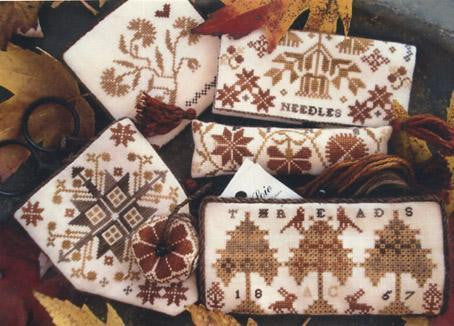 Abigail Colby's Work Basket Accessories | Cross Stitch | Primitive Traditions