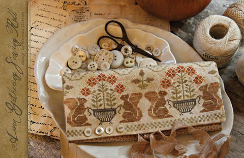 Acorn Gathering | CS 143 | Cross Stitch | With Thy Needle and Thread
