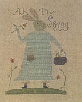 Ah, 'Tis Spring Sampler | Cross Stitch | Notforgotten Farm