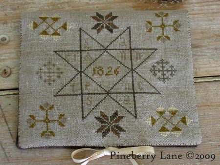 Anne Lancaster's Needle Book | Cross Stitch | Pineberry Lane