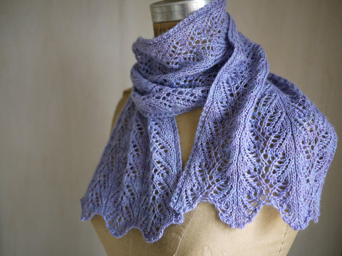 Aria Delicato Lace Scarf Knitting Pattern | KnitSpot