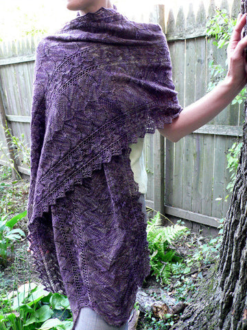 Autumn Arbor Stoll Knitting Pattern | KnitSpot