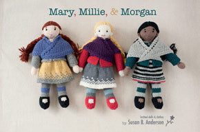 Mary, Millie, & Morgan Knitting Patterns | Never Not Knitting Press (NNK)