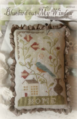 Bluebird out My Window | CS 163 | Cross Stitch | With Thy Needle and Thread
