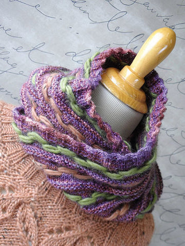 Boulevard Cowl Knitting Pattern | Knit One Crochet Too