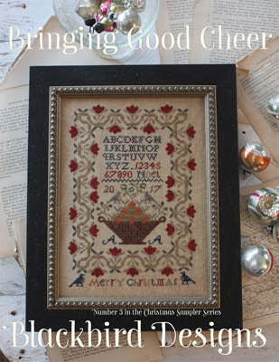 Bringing Good Cheer | Cross Stitch | Blackbird Designs
