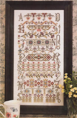 Bucklebury Sampler Cross Stitch | S-1037 | Rosewood Manor