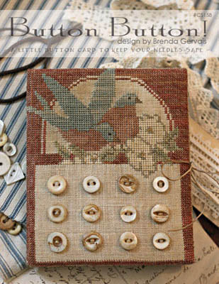 Button Button!  | CS 158 | Cross Stitch | With Thy Needle and Thread