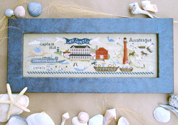 Chincoteague Reproduction Cross Stitch | Carriage House