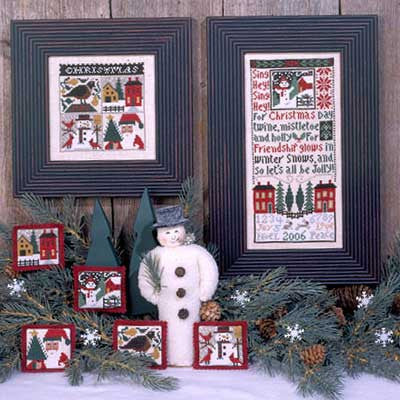 Christmas Day  | Book No. 134 | Cross Stitch | Prairie Schooler