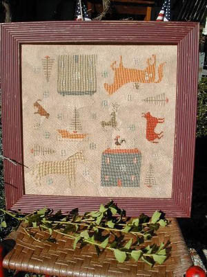 Christmas Farm | Cross Stitch | Notforgotten Farm
