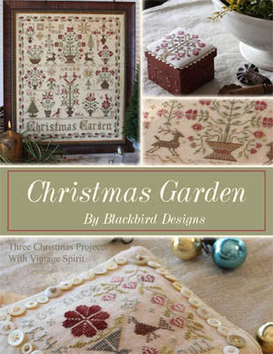 Christmas Garden Sampler Cross Stitch | Blackbird Designs