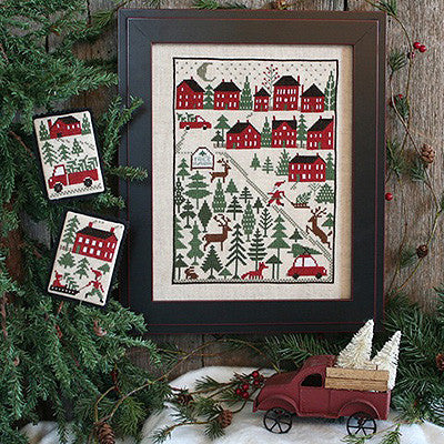 Christmas Tree Farm | Book No. 198 | Cross Stitch | Prairie Schooler