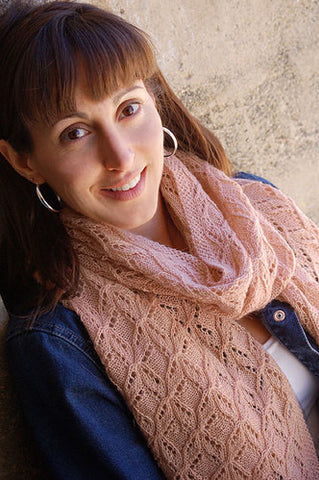 Clara Bows Stole Knitting Pattern | Knit One Crochet Too