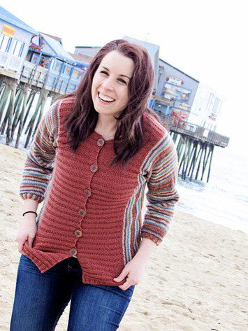 Colorific Cardigan Knitting Pattern | Knit One Crochet Too
