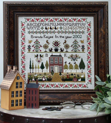 Country House | Cross Stitch | Sampler Company