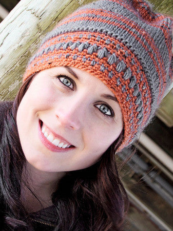 Crochet Brim Hat Knitting Pattern | Knit One Crochet Too