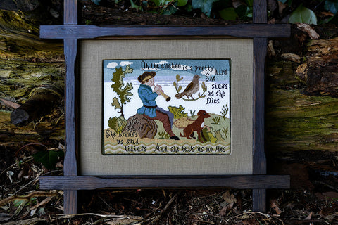 Cuckoo Sampler | Cross Stitch | Sampler Company