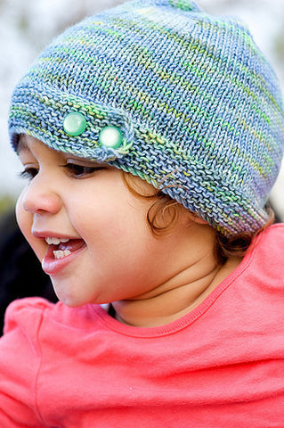 Danie Children's Slouchy Hat Knitting Pattern | Grace Akhrem