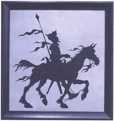 Don Quixote #18 | Cross Stitch | Courtney Collection