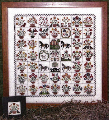 Emily Munroe Quilt Reproduction Sampler Cross Stitch | Rosewood Manor