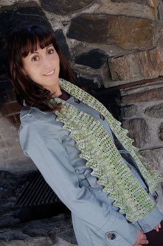 Espalier Scarf Knitting Pattern | Knit One Crochet Too