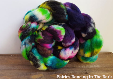 Superwash Targhee Fiber | The Hummingbird Moon
