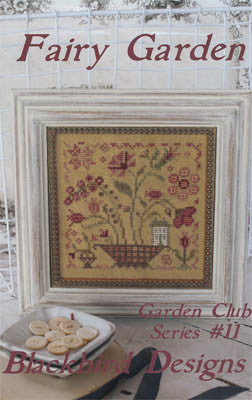 Fairy Garden | Garden Club Series #11 | Cross Stitch | Blackbird Designs