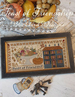 Feast of Friendship | Cross Stitch | Blackbird Designs