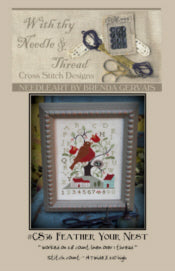 Feather Your Nest | CS36 | Cross Stitch | With Thy Needle and Thread