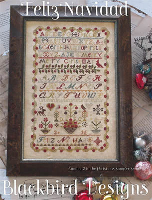 Feliz Navidad | Cross Stitch | Blackbird Designs