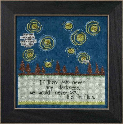 Fireflies Cross Stitch Kit | Mill Hill