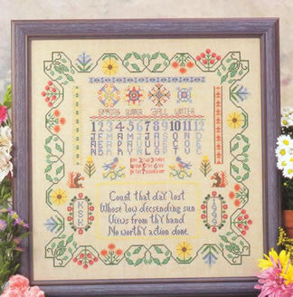 Four Seasons Sampler Cross Stitch | S-1181 | Rosewood Manor