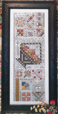 Friendshiop Quilt Sampler Cross Stitch | S-1293 | Rosewood Manor