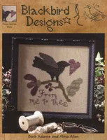 From Me to Thee | Cross Stitch | Blackbird Designs