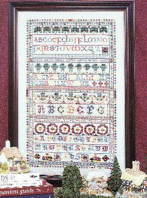 Great British Sampler Cross Stitch | S-1195 | Rosewood Manor