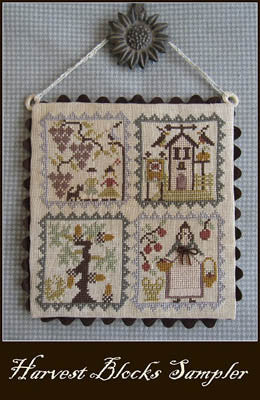 Harvest Blocks Sampler | Cross Stitch | Niky's Creations