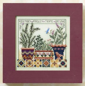 Herb Garden Cross Stitch Kit | Mill Hill