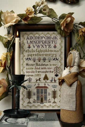 Hester Biddleton Sampler | Cross Stitch | Sampler Company